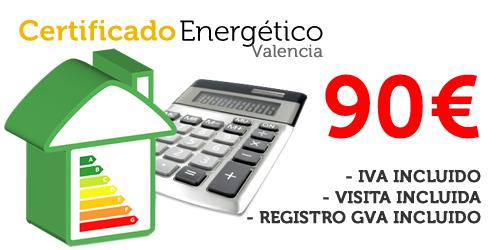 Certificado Energético en Valencia por 90€